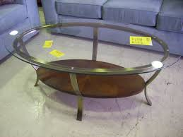 Round Glass And Metal Coffee Table Oval Hammered Metal Coffee Table Coffee Tables Decoration