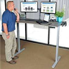 Standing Computer Desk Ikea Desk Adjustable Height Computer Desk Ikea Single Surface Hand