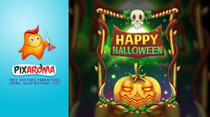 halloween illustrations happy halloween illustration photoshop digital painting speedart