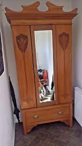 Mirror Armoire Wardrobe Mirrored Armoire Ebay