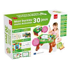 jeux bureau bureau d activités 30 jeux zig zag educatif king jouet premiers