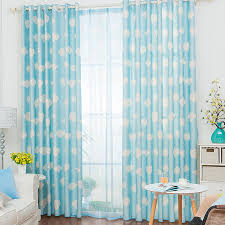 And White Curtains Blue And White Panel Curtains Give You Causal