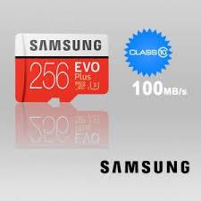 Memory Card Samsung 256gb samsung 256gb evo plus microsdxc memory card no adapter uhs i