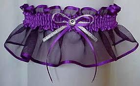 garters for wedding sheer elegance garter in purple orchid iris periwinkle grappa