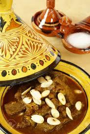 Mro Stock by Mrouzia Moroccan Tagine With Raisins Almonds And Honey Stock