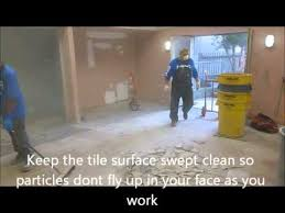 Removing Ceramic Floor Tile How To Remove Ceramic Floor Tiles Fast And Easy Youtube