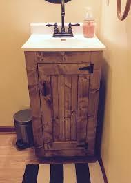 Rustic Bathroom Furniture Small Rustic Bathroom Vanity Inside Best 25 Handmade Furniture