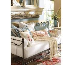 Pottery Barn Beds Bedroom Fetching Image Of Bedroom Decoration Using Light Brown