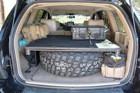 jeep grand trunk cover wj cargo storage system grand
