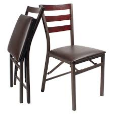 Dining Folding Chairs Set Of 2 Folding Dining Chairs Home Coopers Of Stortford
