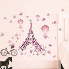 Eiffel Tower Bedroom Decor Paris Bedroom Decor Ebay