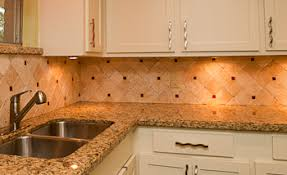 The Best Backsplash Ideas For Black Granite Countertops by Travertine Tile Backsplash Granite Backsplash Granite