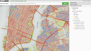 A Map Of New York City by Track The Snow Plows Across New York City In Real Time