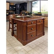 home styles aspen kitchen island u0026 two stools walmart com