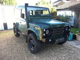 land rover bespoke land rover defender becomes a collectors item online ideas factory