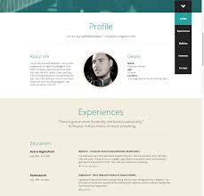 About Me Resume Examples by 16 Ultra Creative Cvs Interactive Résumés That Catch The Eye