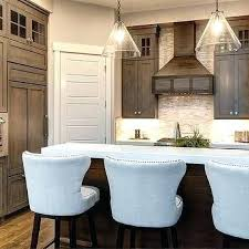 stained kitchen cabinets with painted doors staining darker before