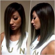 a line long bob haircut asymmetrical long bob black hair