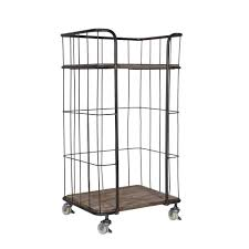 rollregal küche rollregal perleberg aus metall für trolley wohnen de
