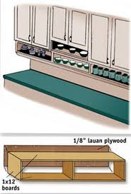 Under Cabinet Shelving by 30 Diy Storage Solutions To Keep The Kitchen Organized Saturday