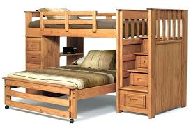 Wooden Bunk Bed With Stairs Wooden Bunk Beds With Steps Ianwalksamerica
