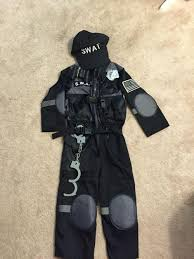 swat team halloween costumes find more s w a t team halloween costume size 3 4yrs for sale at