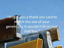 thank you messages to write in a card holidappy