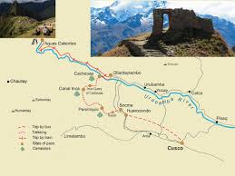 Machu Picchu Map Inca Quarry Trail 4 Days Cachicata Trek To Machu Picchu