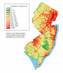 New Jersey travel booking images Map of new jersey map population density png