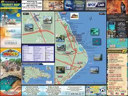 Usd Campus Map Tourist Map Of Punta Cana U0026 Bavaro U2013 Punto Caribe Media Group