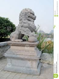qilin statue qilin asian mythological statue stock photo image 58344796