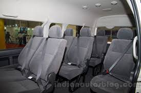 toyota hiace 2015 toyota hiace seats at bus and special vehicle show 2015 indian