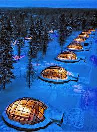 sleep under the northern lights glass igloos in finland for sleeping under the northern lights