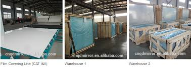 Mirror Film For Walls Supplying 5mm Safety Mirror With Cat I Cat Ii Backing Film