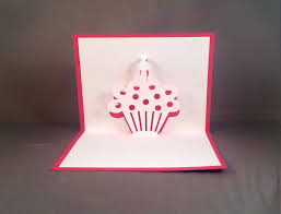 cupcake pop up card for mom sweet 16 funny birthday card