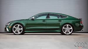 bentley concept car 2016 2016 audi rs7 in verdant green looks like a bentley autoevolution