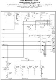 v manual 1997 chevrolet venture instrument cluster circuit system