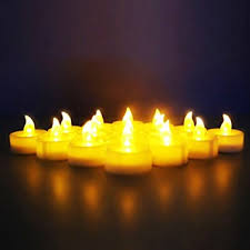 buy wilson trading 12 flameless tea light candles led candles