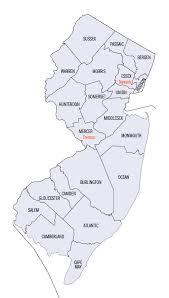 jersey area code map jersey area code map