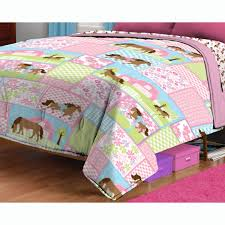 Horse Comforter Twin Amazon Com Country Meadows Horses Twin Bed Comforter Pretty Pony