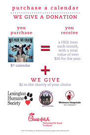 fil a calendars missions supporting