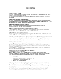 Set Up A Resume How To Set Up A Resume For A Teenager Resume For Your Job
