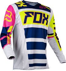 2017 Fox Falcon 180 Hc Motocross Jersey Navy White 1stmx Co Uk