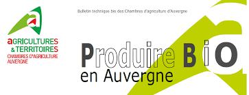 chambre d agriculture d auvergne références technico économiques pôle conversion bio auvergne