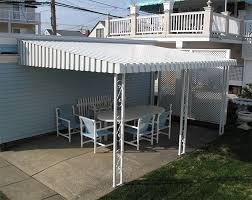 Awnings South Jersey Aluminum Awnings In Linwood Nj Awnings Miami Somers