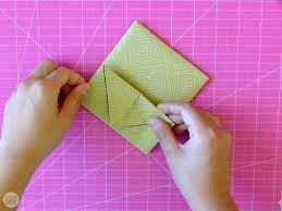 how to fold a letter into a pull tab note i try diy