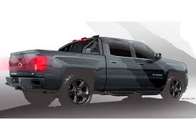 Camo Truck Accessories For Ford Ranger - chevrolet silverado kid rock special ops concepts unveiled at sema