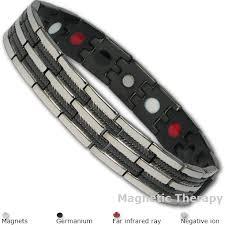 steel magnetic bracelet images Unique bio 4 elements stainless steel magnetic bracelet jpg