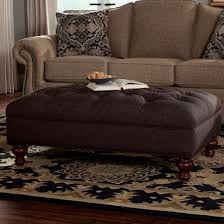 Extra Large Ottoman Slipcover by Extra Large Tufted Ottoman With Bun Wood Feet By Craftmaster