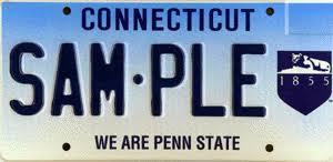 penn state alumni license plate dmv penn state alumni association plate